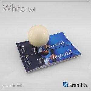 Aramith White Pool Ball (UK)