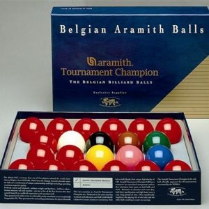 Aramith Tournament Champion Snooker Ball Set 52.4mm (2-1/16″)
