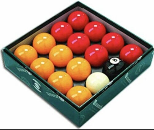 ARAMITH PREMIER PRO CUP ADDITION REDS YELLOWS POOL BALLS**