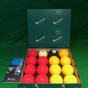 Aramith Premier Pro Cup Addition Pool Balls & Carry Case