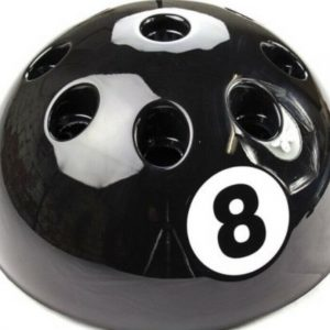 Giant 8 Ball Pool Cue Stand – Various Colours
