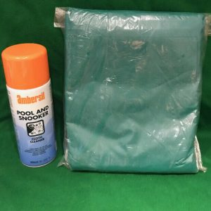 12ft Snooker Table Cover & Cloth Cleaner