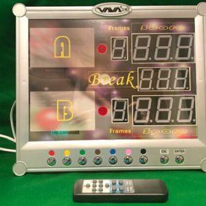 Camelot Electronic Snooker Scoreboard