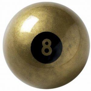 Aramith Gold 8 Ball