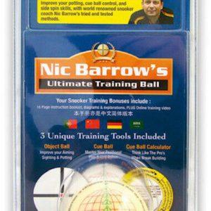 Aramith Nic Barrow Snooker Training Ball