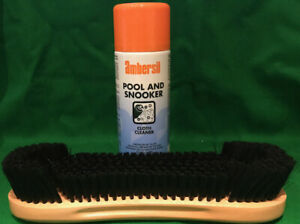 Camelot 9 Inch Pool Table Brush & Cloth Cleaner