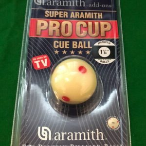 Aramith Pro Cup Pool Spotted White Ball