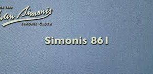 Strachan by Simonis 861 IPA Powder Blue 7ft UK Cloth Set