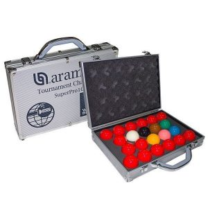 Super Aramith 1G Snooker Set 52.4mm