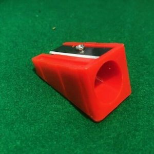 Tip Corrector – Extra Large Pencil Sharpener For Cue Tips