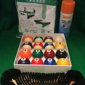 Ultimate Pool Table Care Bundle S&S