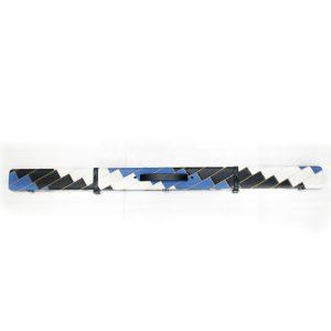 Camelot ¾ Snooker/Pool Cue Case. Blue Black & White