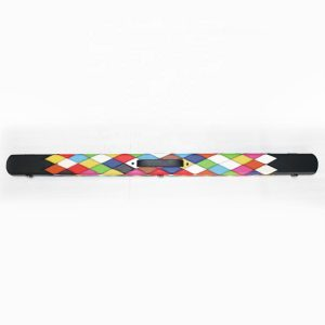 Camelot ¾ Snooker/Pool Cue Case. Diamond Patchwork