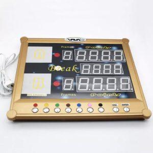 Camelot Electronic Billiard/Snooker Scoreboard